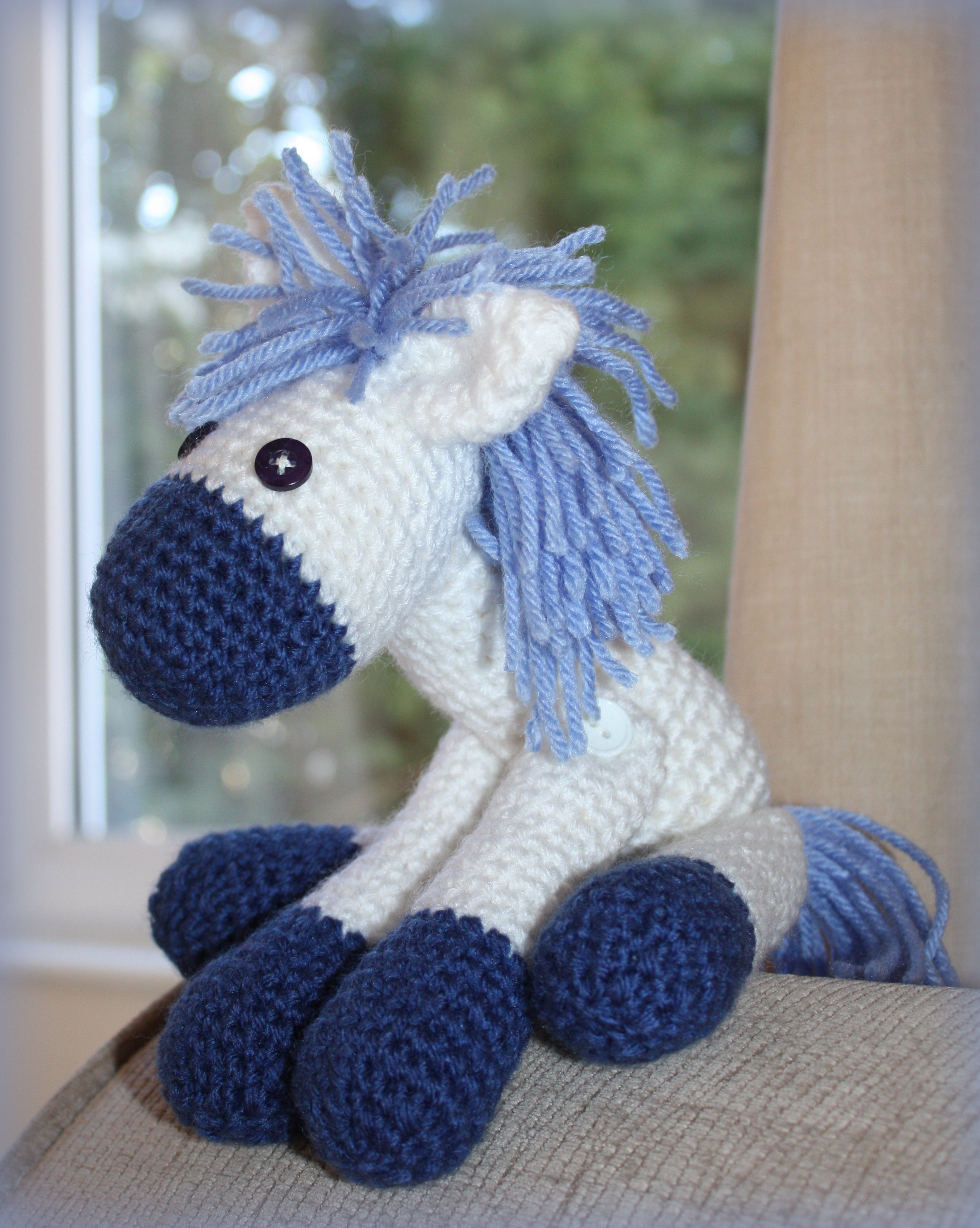 Free Dk Baby Knitting Patterns : Little Donkey   Crocheted Toy Mezzas Crochet, Knitting & Craft Web...