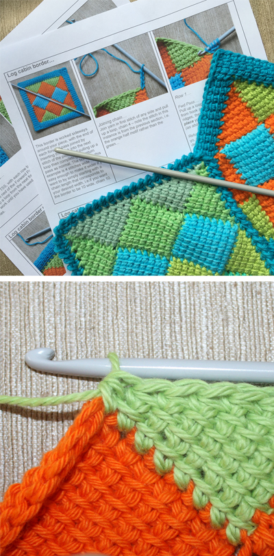 learn tunisian crochet surrey