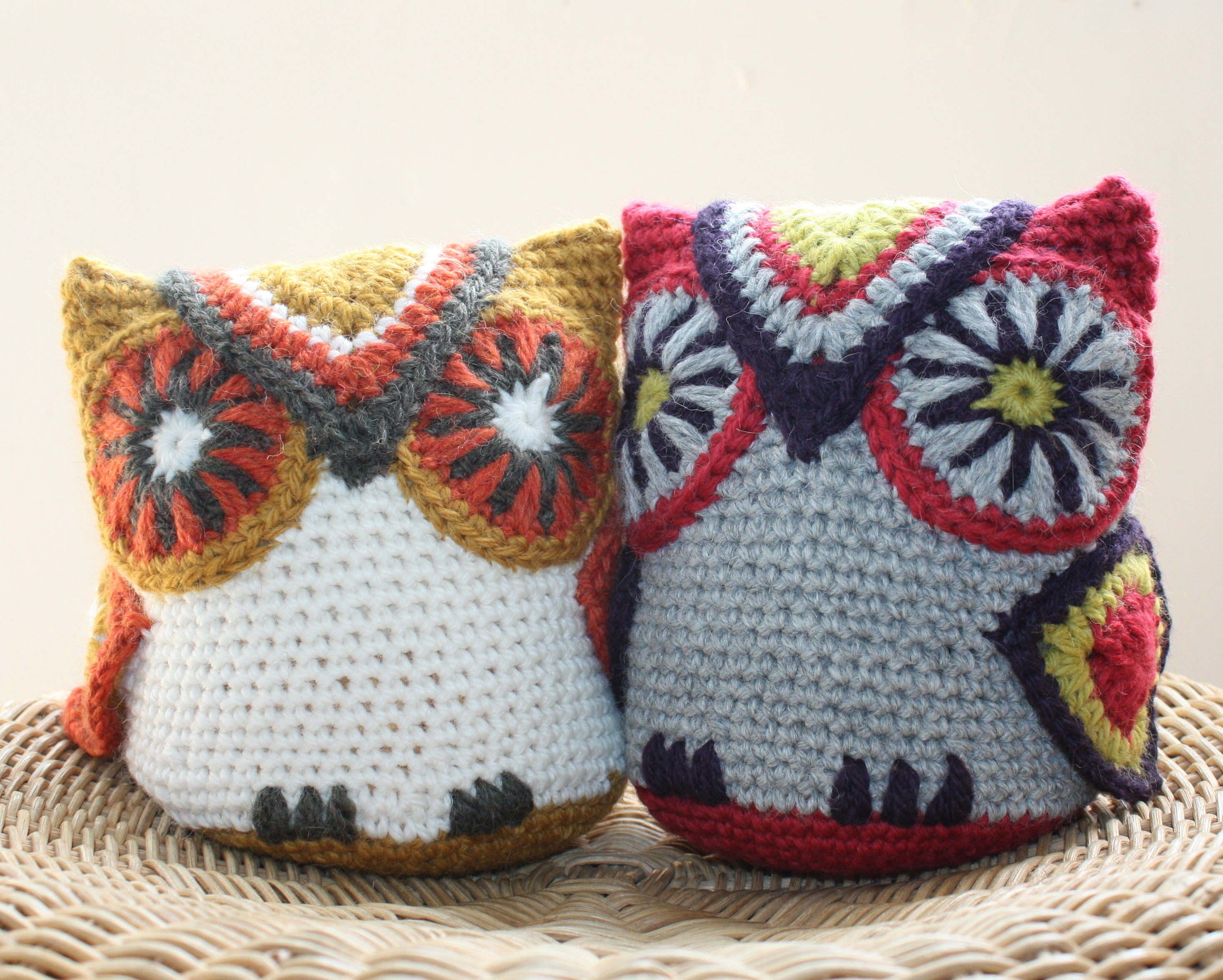 Owl Door Stop Riverhouse Hookers 5 Week Crochet Project