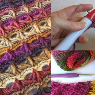 learn broomstick crochet class